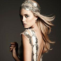 glam + sequin headband