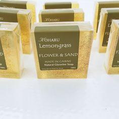 CLEAR SOAP- Lemongrass - Flower and Sand | KOHARU on Madeit Handmade Soaps, Handmade Items, Lemongrass Oil, Luxury Soap, Moisturiser, Lemon Grass, Home Gifts, Coupon Codes, Gift Guide