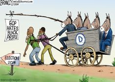Still In Chains - A.F.Branco Cartoons.....for how long are they going to be blind to this tyranny