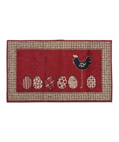 Take a look at this Chicken & Egg Doormat by Mohawk Home on #zulily today!