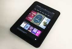 Amazon Kindle Fire HD is a great color ebook reader for $199. http://5.mshcdn.com/wp-content/gallery/up-close-with-the-amazon-kindle-fire-hd-7-inch/slide01.jpg