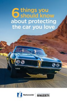 Classic car insurance is different from the insurance that covers your everyday driver. That's why it's important to spend extra time making sure a classic car insurance policy includes all the fine points you need. Learn more about taking care of your classic car at Nationwide.com.