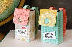 """Подарочная упаковка вашему малышу - """"Рюкзак"""", или """"Снова в школу"""""""