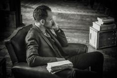 Jonny Lee Miller as Sherlock - Love this shot!