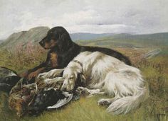 Arthur Wardle - Setters With Game