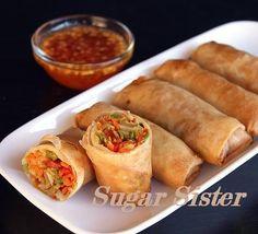#vegetable roll #সবজির সোনালী রোল