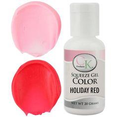 Holiday Red CK Gel Paste Food Coloring