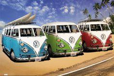 オールポスターズの「VW CAMPERS」ポスター