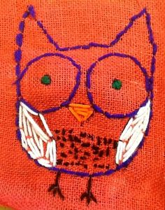 stitched owl gr. 5