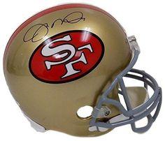 d6587272d Joe Montana Autographed San Francisco 49ers Full Size Replica Helmet JSA  ITP - Sports Integrity