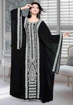 Arab Fashion, Muslim Fashion, African Fashion, Abaya Designs, Kurti Designs Party Wear, Mode Abaya, Mode Hijab, Caftan Dress, I Dress