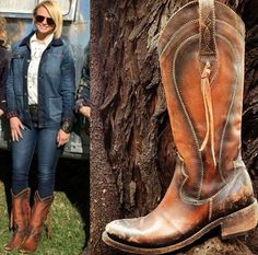 Liberty Black Riding Boots -Miranda Lambert Inspired