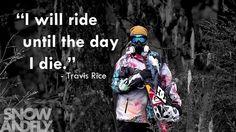 #snowboarding #travisrice