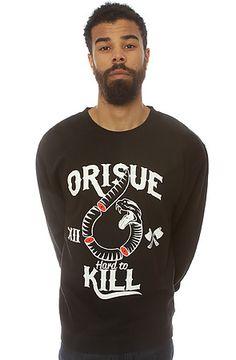 The Hard To Kill Sweatshirt in Black by ORISUE