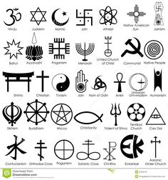 Risultati immagini per simboli religioni