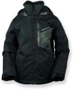 Obermeyer Boy's Ridge Insulated Jacket Black L