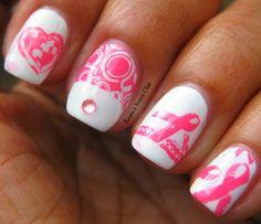 Karine's Vernis Club: Pink for Breast Cancer Awareness/ Rose pour la sensibilisation au cancer du sein