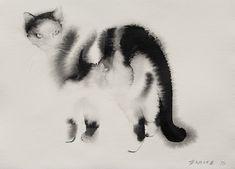 Endre-Penovac-Watercolor-Cats5
