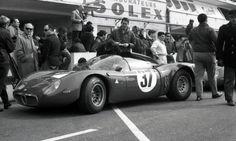 Alfa Romeo Tipo 33 Le Mans 1967 (Essais préliminaires et course en photos) - Forums Auto de Motorlegend