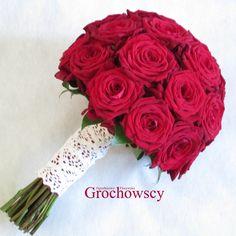 bukiet ślubny Człuchów #czerwoneróże #czerwony #redroses