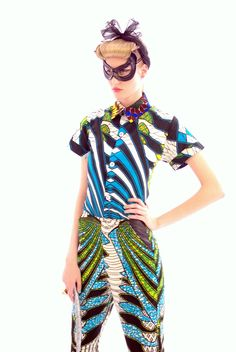 From Boxing Kitten's Spring/Summer 2013 collection.