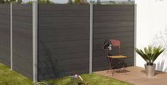 Water resistant and soundproof good,outdoor decoration new material -wpc fence