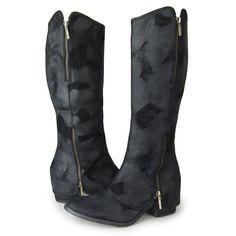 350 / size 10 - 复古作旧风 内外全真皮女长靴 粗跟中跟美国外贸鞋41-43码大码鞋-淘宝网