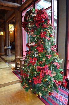 Christmas Tree at Disney's Wilderness Lodge