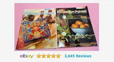 Issue 2 & 5 Decorative Painter from 2003 | eBay #PaintMagazine #ArtMagazine #Arts&Crafts