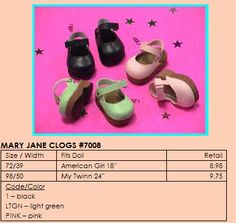 Monique Trading Corp. - Platform Mary Janes