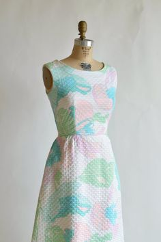 1960s Pastel Dreams Dress - Could wear to this years 50th Anniversary Friday Night Social Dance!