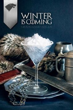 Avec les Game of Thrones Cocktails, l'équipe du magazine polonais Gruszka z Fartuszka a imaginé une série de cocktails alcoolisés inspirés par les personn