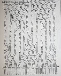Long holes.  The illustration from Collingwood p144, fig 74. is a simplified figure and does not go with the instructions which follow the figure.  This figure is someone's drawing of what Collingwood's instructions on pp. 144-5 actually create.