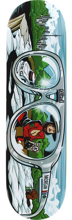 Blind Morgan Smith Resin 7 Shades Skateboard Deck Skateboard Design, Skateboard Decks, Skate Art, Skate Decks, Logo Sticker, Skateboards, Bmx, Baddies, Blinds