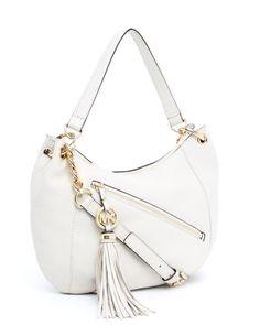 MICHAEL Michael Kors  Charm Tassel Convertible Shoulder Bag.