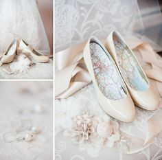 Nude Pumps // Wedding Shoes // alison dunn photography