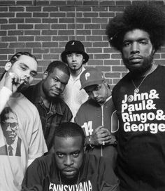 The Roots best Hip Hop band ever.