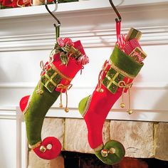 Bring the magic of the holidays into your home with the indoor Christmas decorations at Grandin Road. Find beautiful Christmas home décor online today. Indoor Christmas Decorations, Halloween Decorations, Christmas Holidays, Christmas Crafts, Christmas Ornaments, Christmas Presents, Christmas Ideas, Unique Christmas Stockings, Xmas Stockings