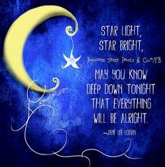 Stars quote and illustration via www.Facebook.com/PrincessSassyPantsCo