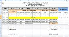 Jadwal Pelajaran Kurikulum 2013 untuk SD Kelas 1 2 3 4 5 6 Periodic Table, Pdf, Education, Periodic Table Chart, Periotic Table, Onderwijs, Learning
