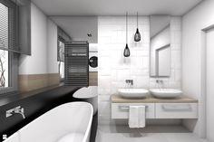 Łazienka styl Skandynawski - zdjęcie od BAGUA Pracownia Architektury Wnętrz…