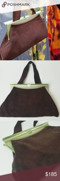 I just added this listing on Poshmark: Vintage moleskin purse in chocolate brown. Chocolate Color, Chocolate Brown, Vintage Handbags, Moleskine, Fashion Tips, Fashion Design, Fashion Trends, Sage, Stitching