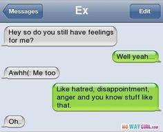 Ex boyfriend text message fail funny txts смешно, забавности Funny Text Messages Fails, Text Message Fails, Text Jokes, Boyfriend Text Messages, Text Messages Crush, Funny Text Conversations, Lol Text, Cute Texts, Stupid Texts