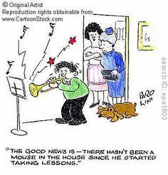 music lesson cartoon