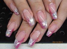 #nails #pink #cute