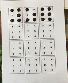 This activity gives hands-on practice with the braille alphabet for children who are blind or visually impaired.