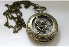 Mockingjay pocket watch | Wish.com
