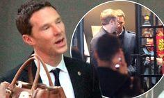 Benedict Cumberbatch visits a spa in Shanghai