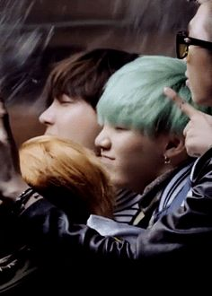 YOONGIS SMILE is so BIG XDD I love seeing how happy he is here even if it's just for the MV