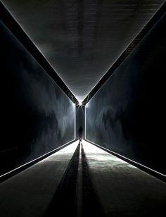 Lighting main audiovisual spaces (edges defines, dark space)